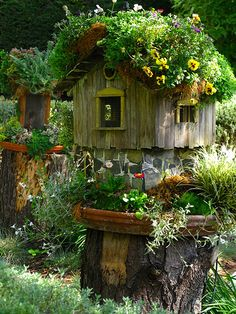 Fairy Houses | Flickr - Photo Sharing!