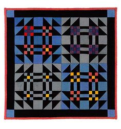 Kate Adams-Young Man's Fancy ~http://www.kateadamsfineminiaturequilts.com/youngmansfancy.html