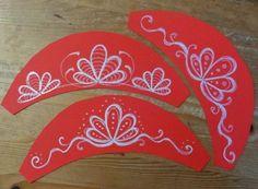 Csak kreatívan- A rajztanár szeme: Párták, az 1848. március 15-i műsorhoz. Diy And Crafts, Crafts For Kids, Paper Crafts, Doki, Balerina, Spring Crafts, Holidays And Events, Art Lessons, Paper Flowers
