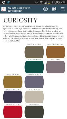 Sw trend forcast 2014 colors. ..curiosity