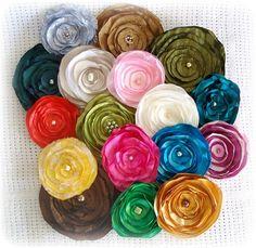 Beautiful handmade flowers !