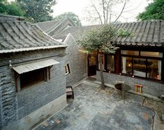 archiplein extends beijing hutong using historical references - designboom | architecture