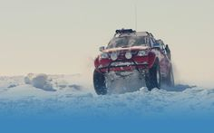Arctic Trucks specialises in the re-engineering and conversion of four-wheel drive vehicles for extreme conditions. Toyota Hilux, Four Wheel Drive, Antarctica, Challenges, Trucks, Future, Future Tense, Truck, Cars