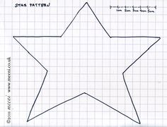 Free Primitive Star Template | Paper Pricking Free Patterns Sports Quilt Patterns >>