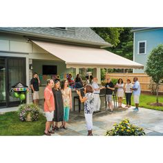 Sunsetter® Manual, Motorized and XL Retractable Awnings