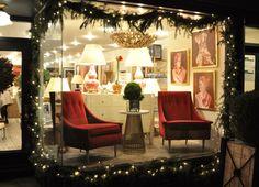 Window display at our #NewYork #Mecox location! #interiordesign #NYC #MecoxGardens #furniture #shopping #home #decor #design #room #designidea #vintage #antiques #garden