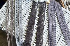 4 yds Crochet trim I Crochet lace trim I Lace trim I Crochet lace I Grey lace trim I Grey crochet trim I Crochet I Shabby chic lace I Lace by SixthCraft on Etsy