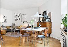 Szwedzkie mieszkanie - styl skandynawski w czystym wydaniu