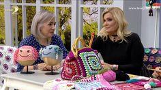 ✿ ❤  Çanta Yapımı (crochet bag making)  Derya Baykal'la Gülümse: