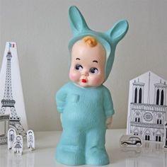 Baby rabbit lamp - 35 cm