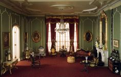 victorian interiors room by room | Drawing Room of the Victorian Period, 1840-70 | Charlotte Interior ...