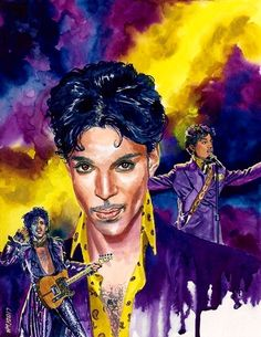 Painting - Prince In Yellow by Ken Meyer jr , Tom Bagshaw, Prince Images, Play That Funky Music, Dengeki Daisy, Art Deco Posters, Pokemon Cosplay, Comic Games, Vampire Knight, Mexican Folk Art