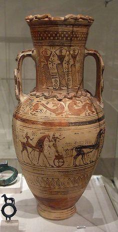 Unattributed Terracotta Neck-Amphora in the Metropolitan Museum of Art, Oct. 2007 | Flickr - Photo Sharing!