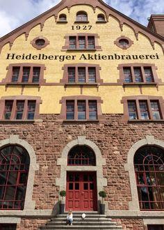 Unser Hotel in Heidelberg: Das NH Hotel Heidelberg, die einstige Heidelberger Aktienbrauerei. Nur zwei Straßenbahnstationen vom Zentrum entfernt. Hotel Heidelberg, Germany, Mansions, House Styles, Home Decor, Trips, City, Traveling With Children, Centre