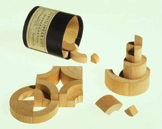 Swift's combination, Bradley's cube and curvilinear kindergarten blocks   via http://www.anambitiousprojectcollapsing.com/