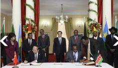 Latest Chinese News Lesson: China to build new East Africa railway line. Fēizhōu tiělù. 非洲 铁路。 www.gurulu.com