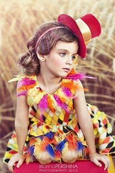 Russian child model Milana Kurnikova