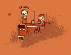 Vegetarian Zombies :)
