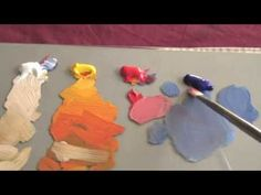 How To Mix & Match Color Tones - Acrylic & Oil Painting Lesson - YouTube