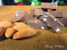 Blessy's Kitchen: Roast Almond Chocolate http://www.blessyskitchen.com/2013/12/roast-almond-chocolate.html