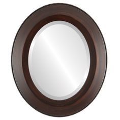 Oval Beveled Wall Mirror for Home Decor Lombardia Style Mocha outside dimensions * Read more at the photo web link. (This is an affiliate link). Oval Mirror, Oval Frame, Beveled Mirror, Wall Mounted Mirror, Beautiful Bathrooms, Home Decor Trends, Modern Decor, Thing 1, Bathroom Mirrors