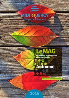 Retrouvez toutes les actualités et manifestations du Pays Midi-Quercy pour cet automne.