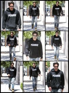 Joe Manganiello out and about Joe Manganiello, Adidas Jacket, Athletic, Jackets, Fashion, Down Jackets, Moda, Athlete, Fashion Styles