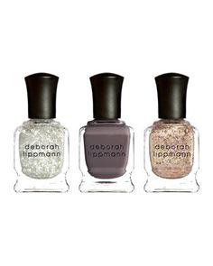 we pretty much love all things glittery and names like 'baby i'm a star', these are too amazing #glitter #nailpolish #neimanmarcus http://www.neimanmarcus.com/Deborah-Lippmann-Limited-Edition-Space-Oddity-Mini-Nail-Lacquer-Set/prod162930118/p.prod?ecid=NMALRFeed&ci_src=14110925&ci_sku=prod162930118sku