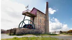 Explore the National Trust's East Pool Mine at the heart of the Cornish Mining World Heritage Site. Holidays In Cornwall, Engine House, England Map, Gravel Path, Local Hero, National Trust, Places Of Interest, World Heritage Sites, Countryside