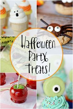 Simple SPOOKY Treats for Halloween Parties -- these are surprisingly doable! Pin for Halloween parties/neighbor treats this year :)