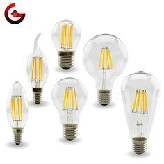 EDISON LED FILAMENT BULB 👇MYALLESHOP Edison Led, Chips Brands, Vintage Candles, Light Colors, Retro Fashion, Light Bulb, Bubbles, Color Temperature, Lights