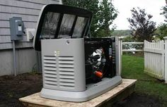Standby Generators for Use During Power Outages