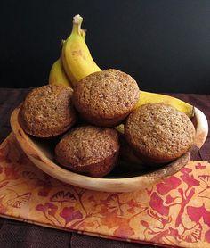 Banana Barley Flour Muffins