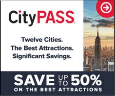 Save up to 50% on New York's 6 best attractions with CityPASS - City Pass Coupon & Promo Codes - Shop Now!