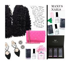 """""""Maxus Nails 2/1"""" by merima-kopic ❤ liked on Polyvore featuring beauty, Chanel, Giorgio Armani, nails, brand, maxusnails and maxus"""