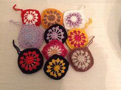 Vintage Geh kelte Dufts ckchen Gef llt mit Lavendel in gen hten Baumwolls ckchen