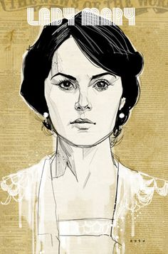 My favorite comic artist does Downton.