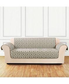 sure fit microfiber non slip loveseat pet cover furniture protector rh pinterest com