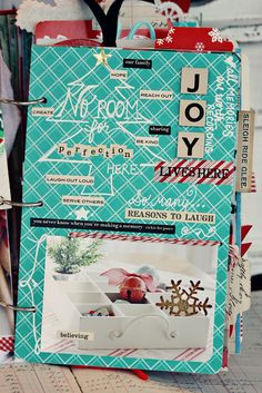 december daily: too many ornaments Christmas Mini Albums, Christmas Journal, Christmas Scrapbook, Christmas Minis, Christmas Countdown, Christmas Planning, Christmas Cards, Scrapbooking Album, Mini Scrapbook Albums