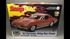 (287) Revell: Chevrolet Corvette 1963 C2 Stingray Unboxing - YouTube