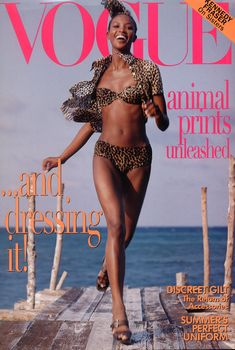 Vogue May 1996  Naomi Campbell