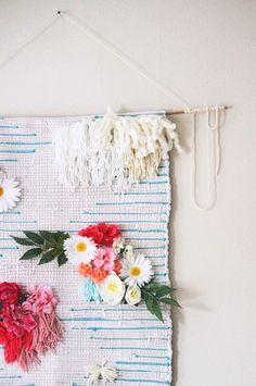 The Kipi Blog DIY: From rug to wall tapestry | @invokethespirit