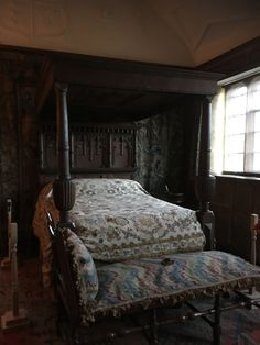 This gorgeous photographed when I stayed at Garden City, Moody Bedroom, Dark Bedroom, Four Poster Bed, Four Poster, Bed, Vintage Dressing Tables, White Rooms, Bedroom