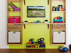 31 best wall storage images  workout rooms at home gym