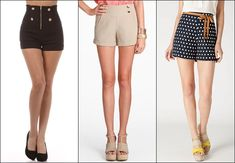 Short styles for hourglass figure