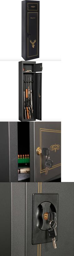 Cabinets and Safes 177877: 8 Gun Cabinet Storage Safe Rack Rifle ...