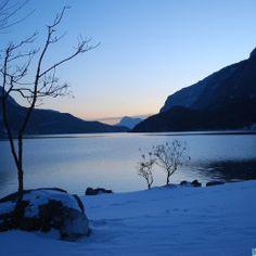 lago di Molveno d'Inverno