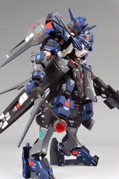 GUNDAM GUY: 1/100 Full Mechanics Gundam Vidar - Painted Build