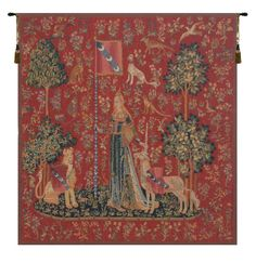 Le Toucher Fonce European Wall Tapestry