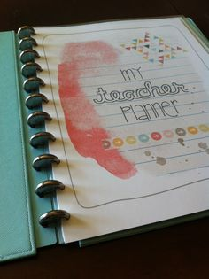 mrs. prince & co. planner (second version) - love them both!